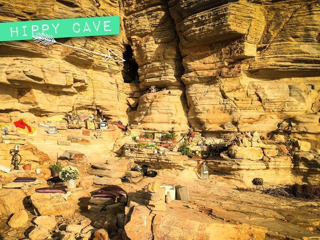 punta galera ibiza hippie grot