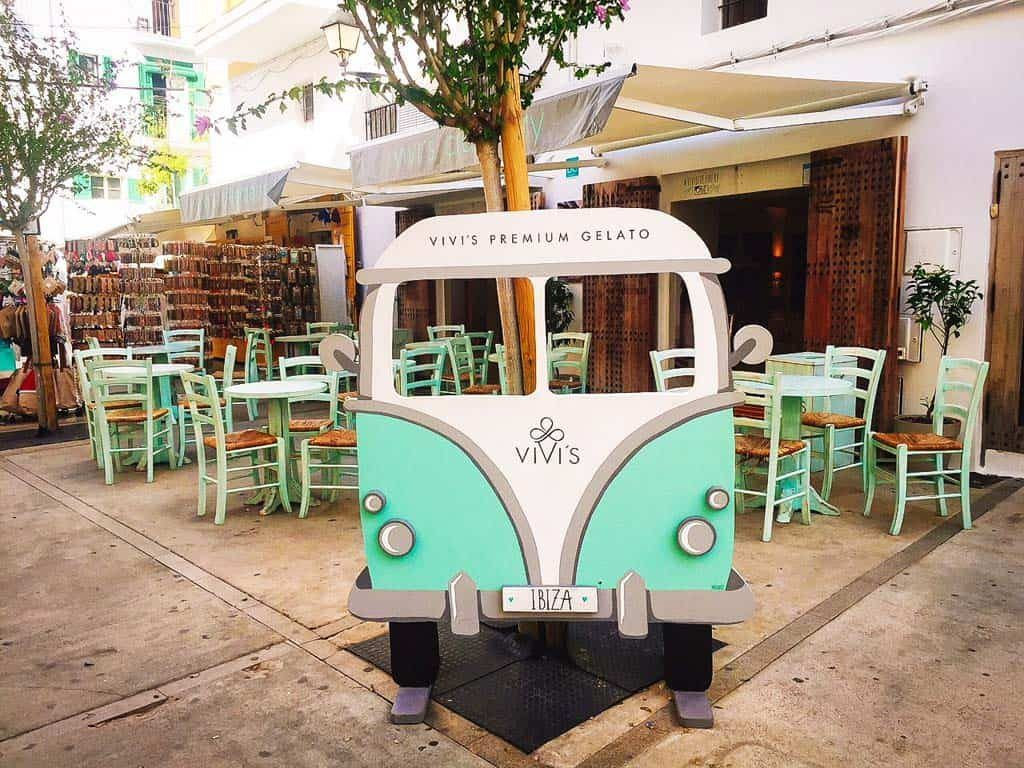 Ice Cream Bar : Vivi's Creamery