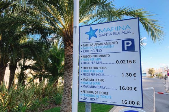 parkeren Santa Eularia