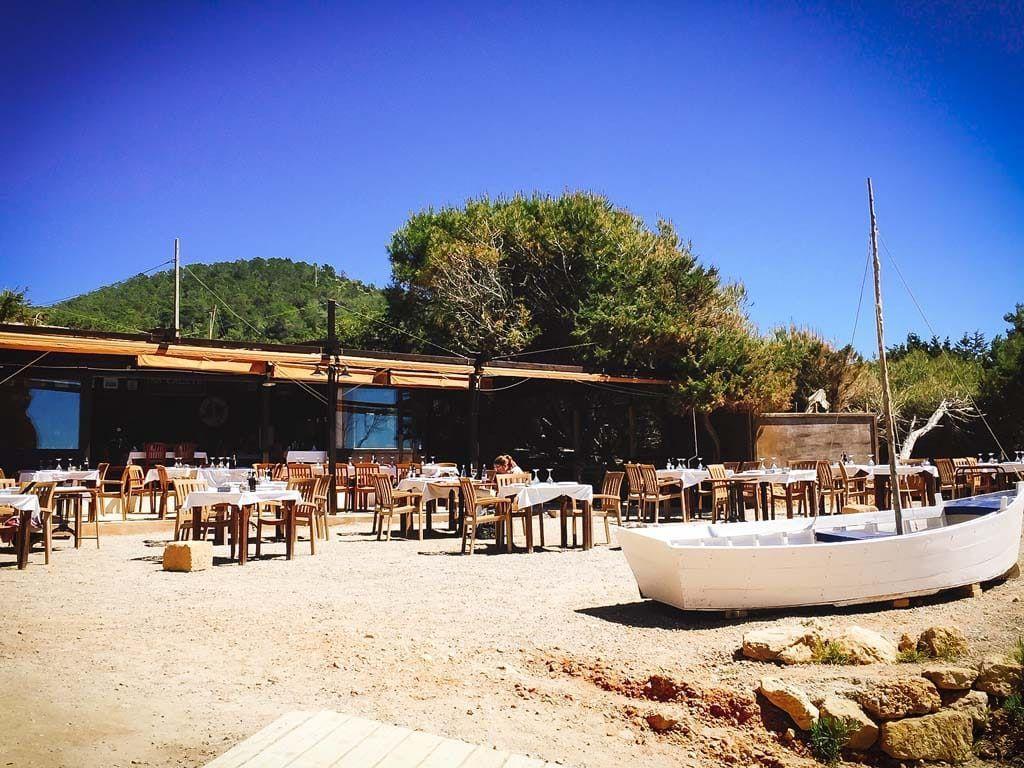 Restaurant: Sa Caleta