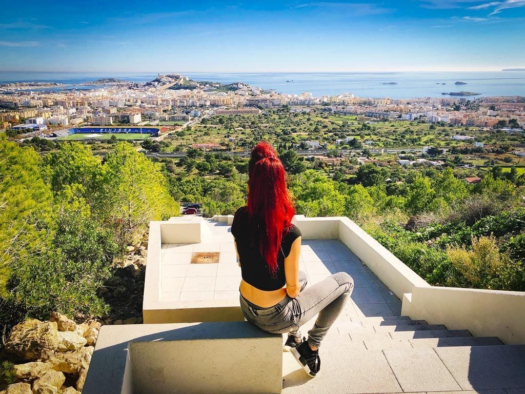 Viewpoint: Ibiza stad (+secret stairway)