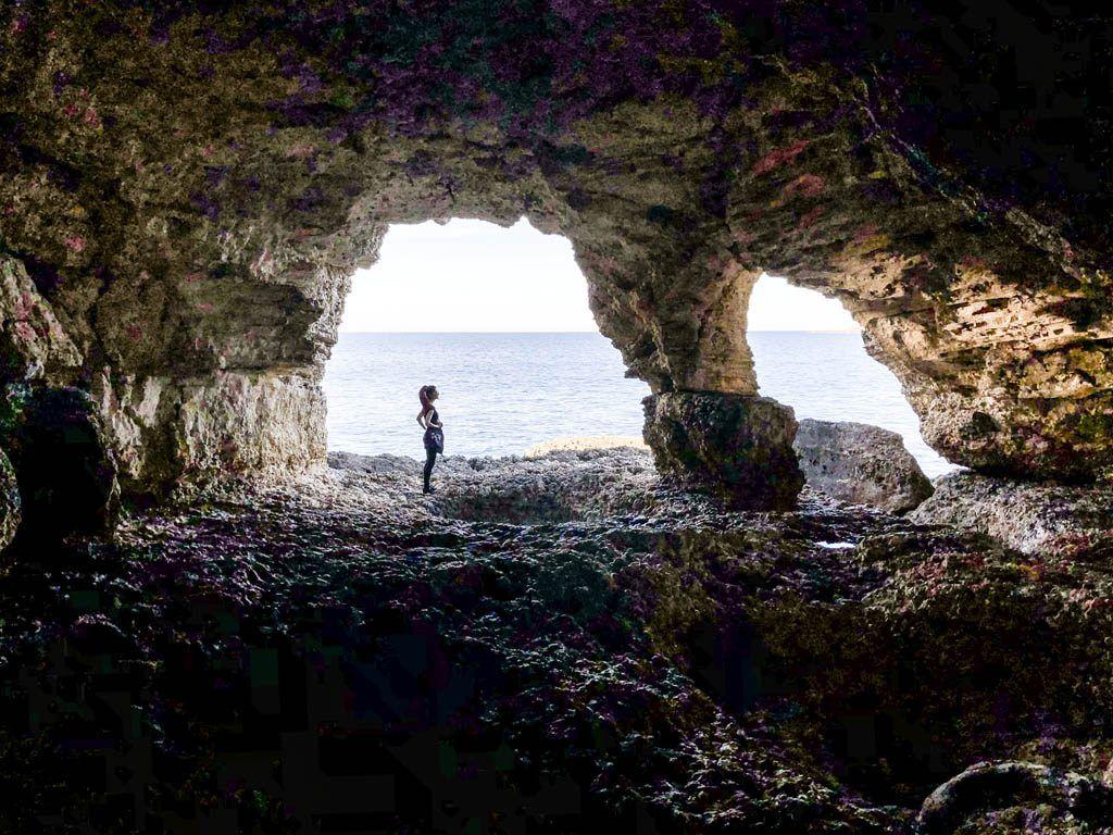 De grotten van Punta de Xarracó