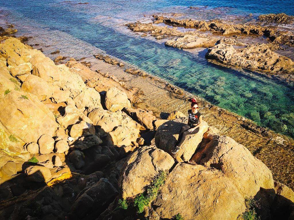 Het kanaal van Punta des Llaut