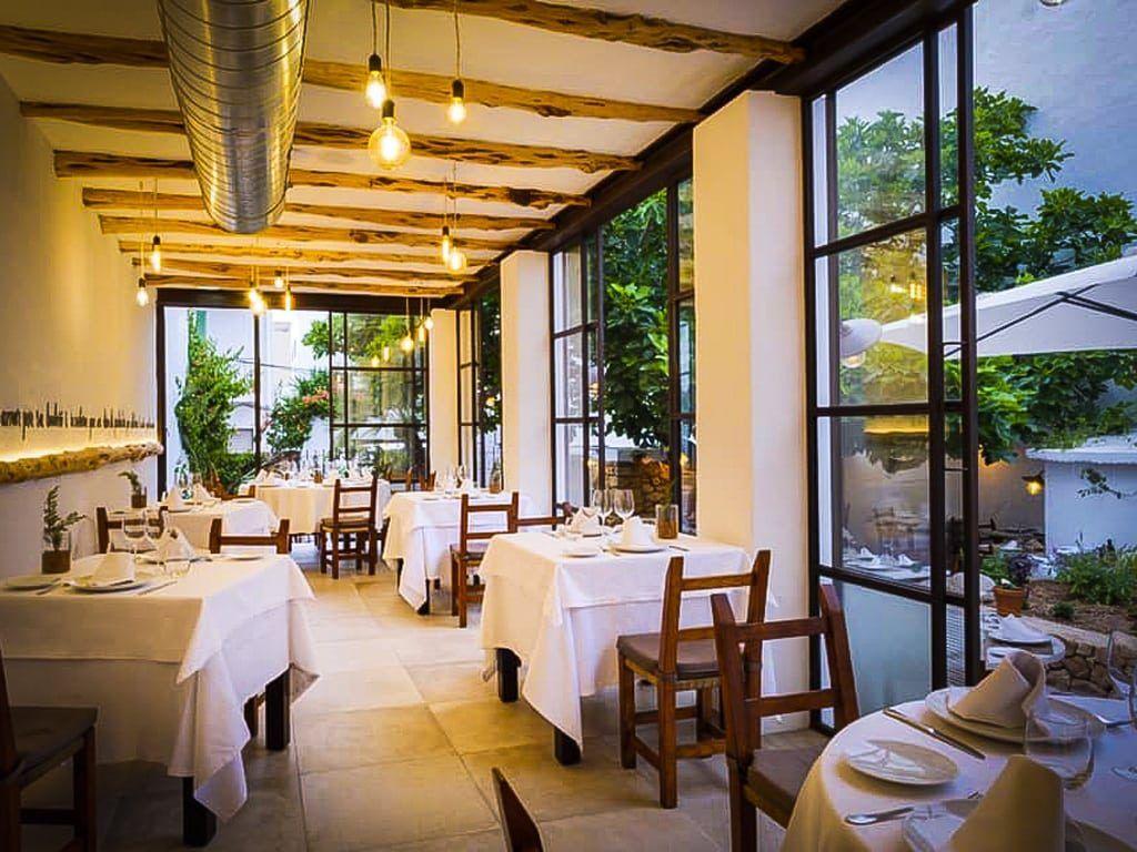 Es ventall fine dining gastronomie ibiza San Antonio