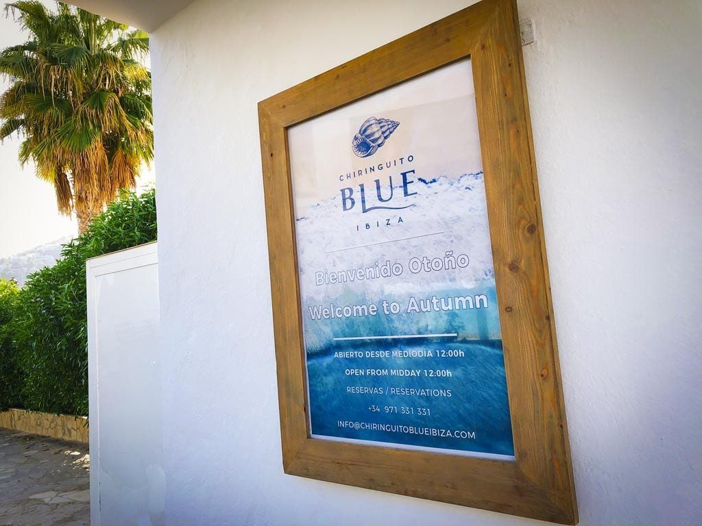 Laidback luxury in Santa Eularia: Chiringuito Blue