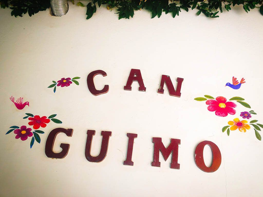 Homemade food for happy people: Can Guimo