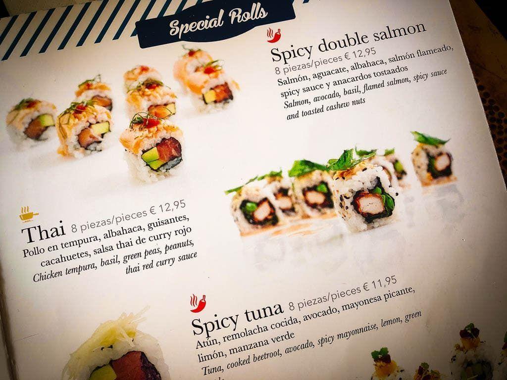 Mijn favoriete sushi hotspot: sushimi