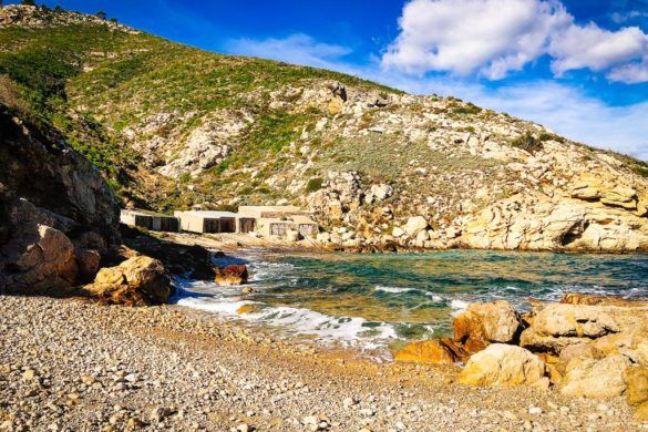 Secret beach: Port de ses Caletes