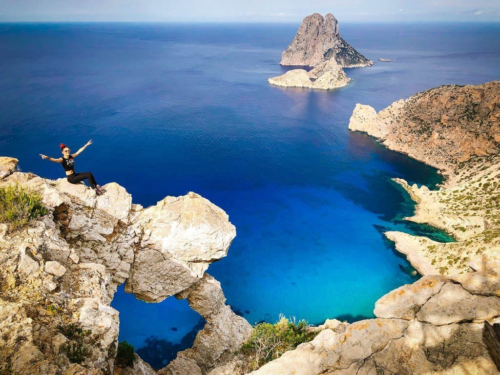 The eye of Es Vedra