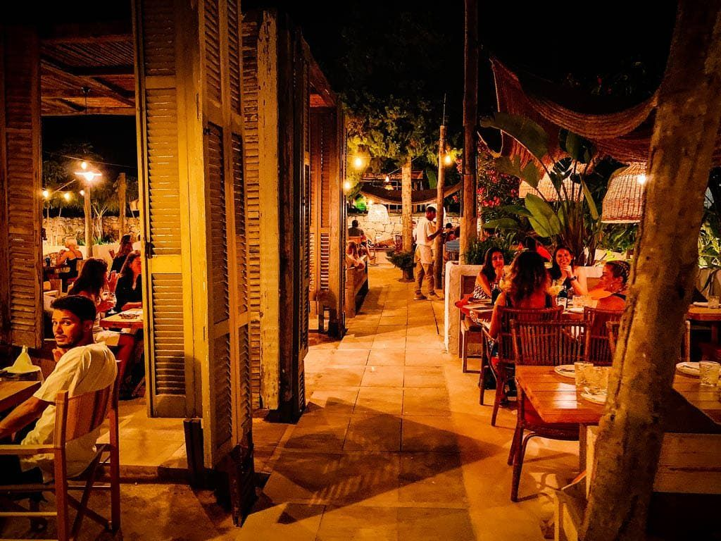 Bohemian style dinner in Sant Josep: Can Bass