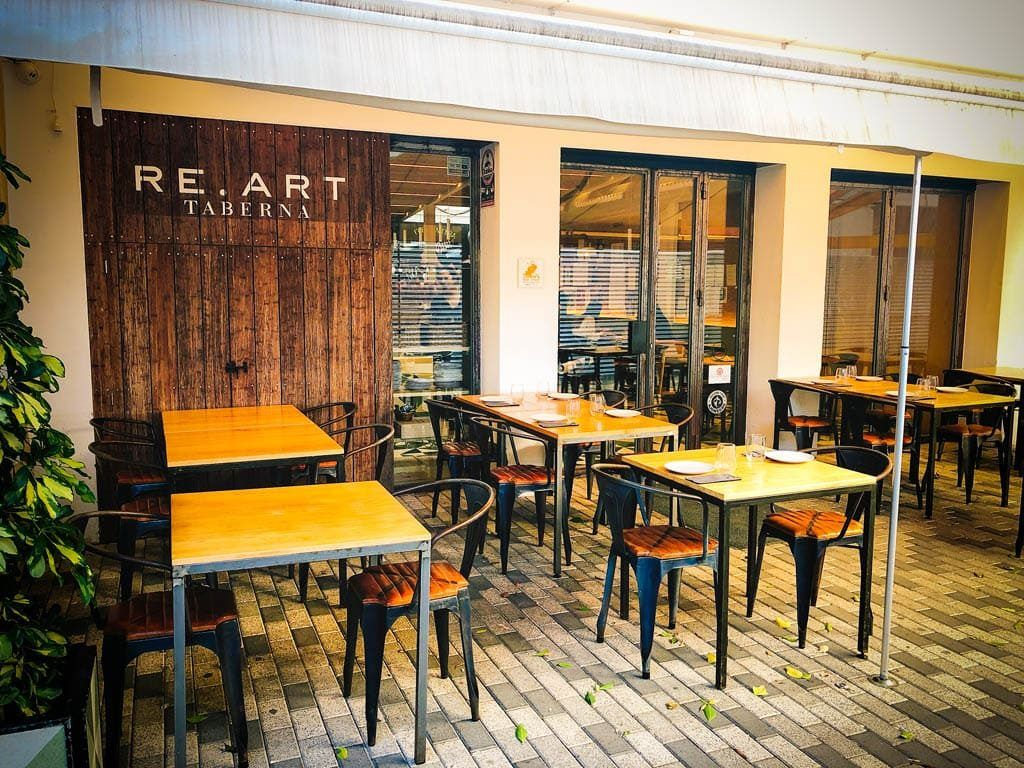 Gastro bar & tapas: Re-art