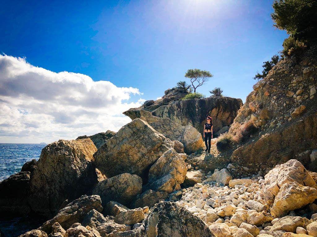 Secret beach: Es Niu de s'Aguila