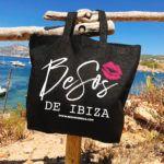 Besos de Ibiza draagtas beachbag