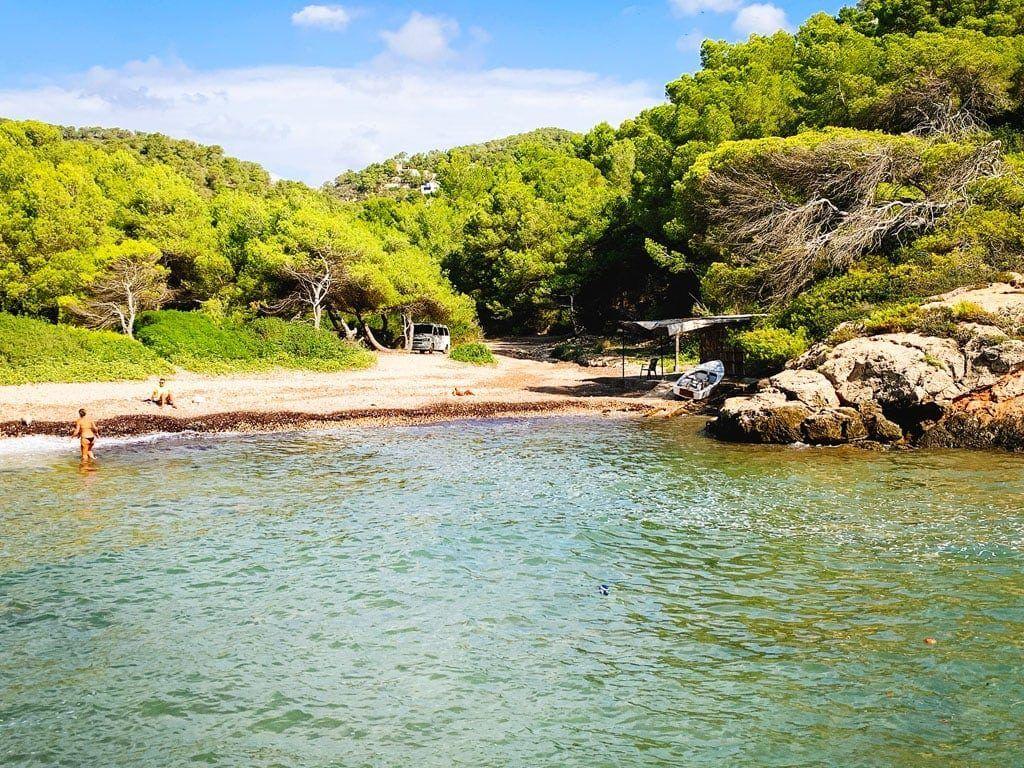 playa cala espart ibiza