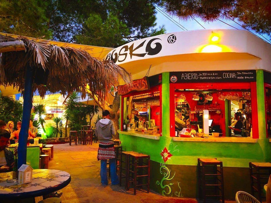 el kiosko ibiza restaurant pizza