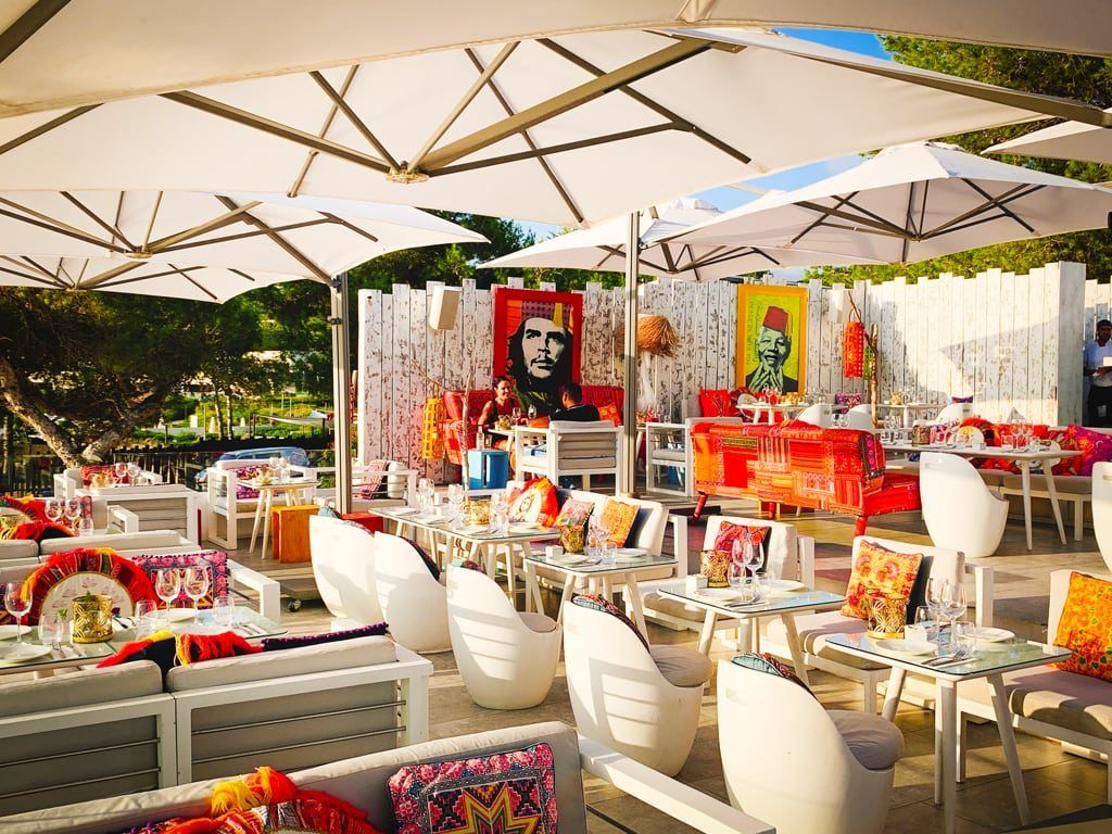 Patchwork Sa Punta Ibiza Ginger restaurant