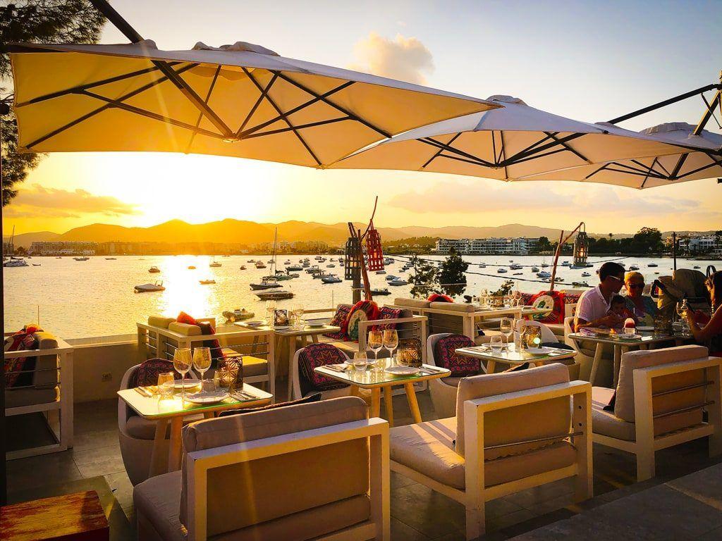 Patchwork Sa Punta Ginger restaurant Ibiza Talamanca