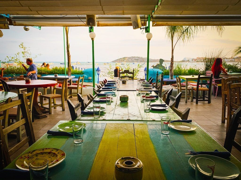bodega talamanca ibiza restaurant tapas
