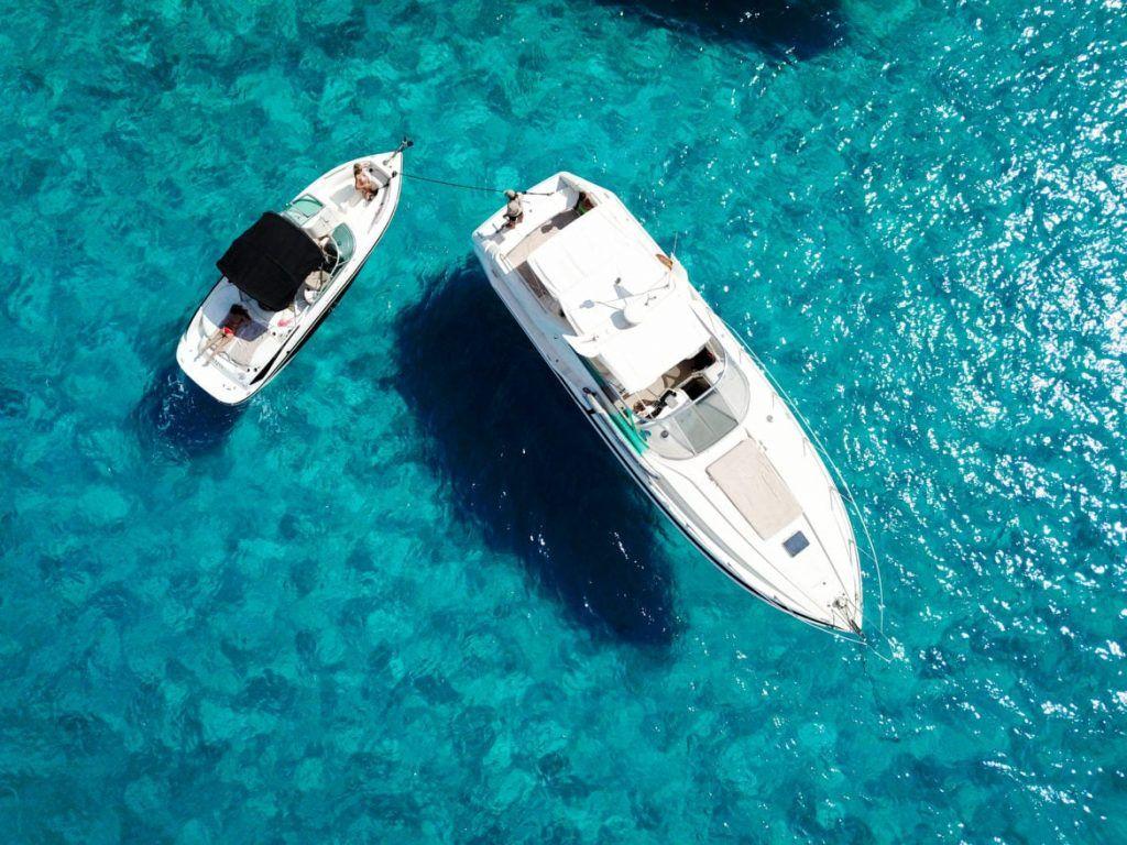 formentera boot boat tour boottocht ibiza