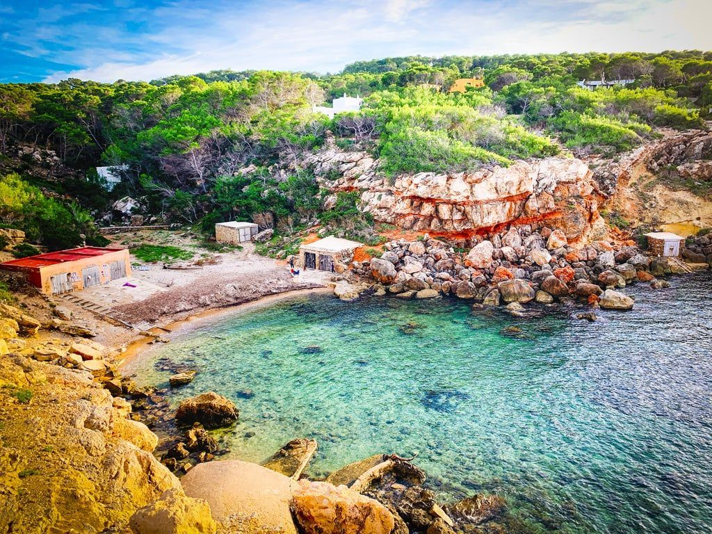 playa punta galera geheim strand ibiza