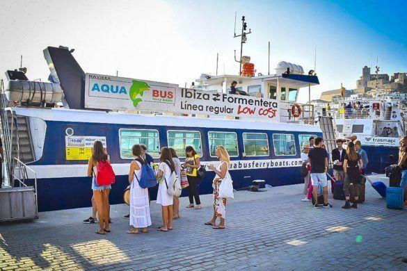 aquabus ibiza formentera boot trip ferry