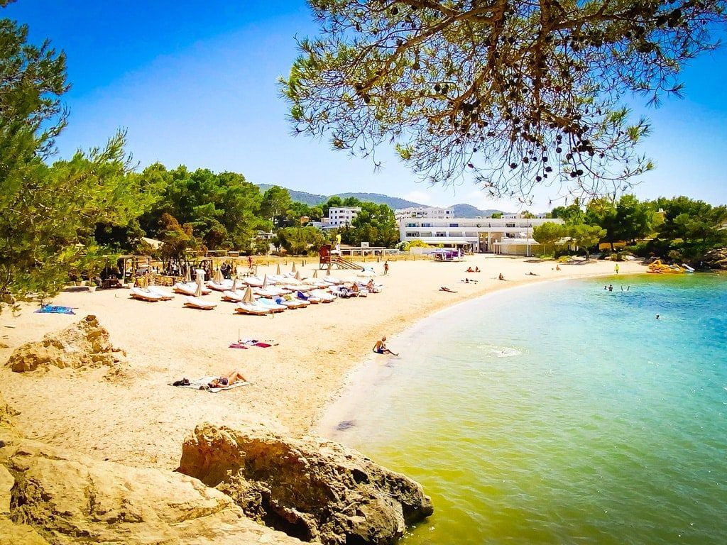 port des torrent beach bar strand club ibiza restaurant
