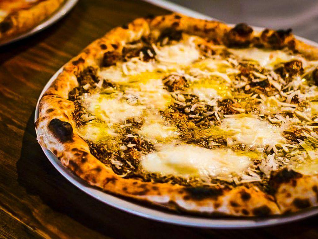 pizza truffel tartufo ibiza