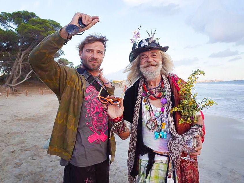Francisco Ibiza hippie hippy