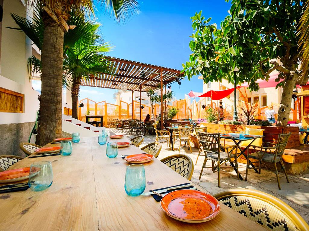 salvaje ibiza restaurant