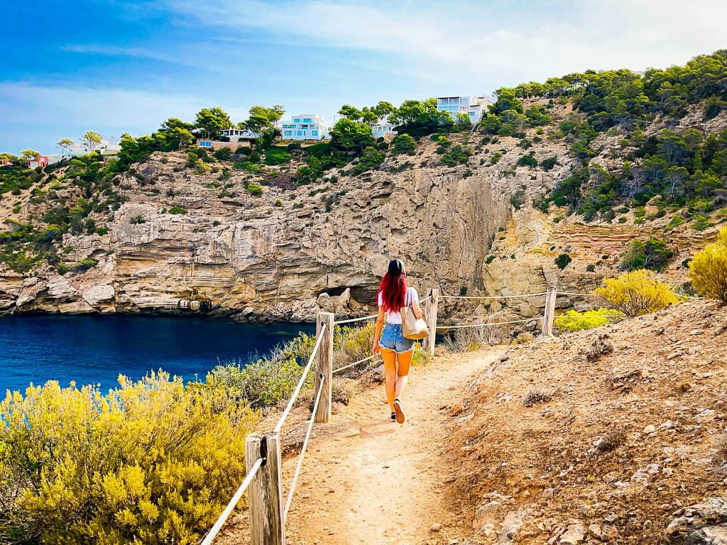secret beach ibiza Caló d'En Real